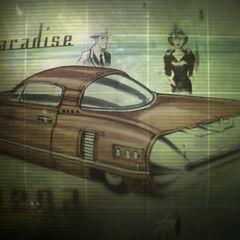Корвега на завантажувальному екрані