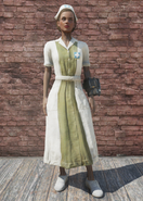 FO76 Asylum Worker Uniform Forest