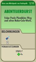 FOS - Questkarte - Reise zum Mittelpunkt von Vaultopolis - 2 - Abeteuerdurst - Front