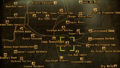 Searchlight East Gold Mine loc