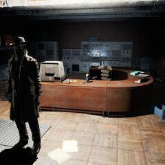 Валентайн в кабінеті Доглядача