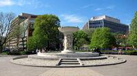 Dupont Circle fountain - facing southwest