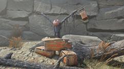 Explosive shrine