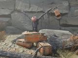 Explosives shrine