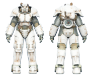 FO4CC X-01 power armor white