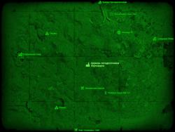 FO4 Церковь пятидесятников Хоупсмарча (карта мира)