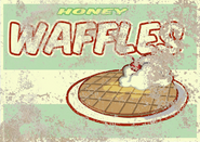 FO4 Poster Honey waffles