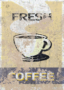 FO4 banner fresh coffe