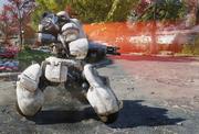 FO76 Whitespring sentry bot