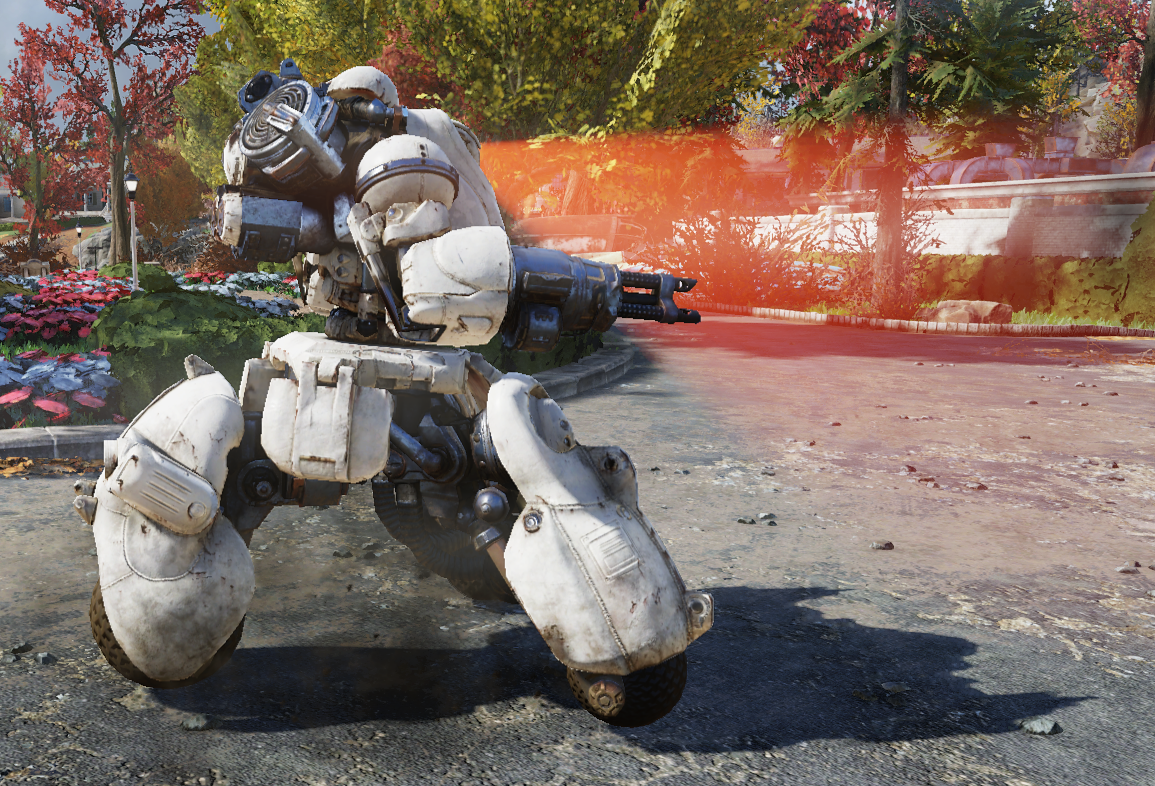 a002e13164 A generally non-hostile sentry bot. It is white in color and only  encountered within the Whitespring Resort. It will attack other hostile  creatures which ...