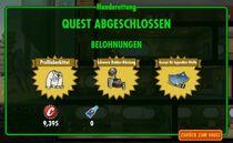 FOS Quest-Hunderettung-Belohnung