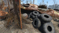 Robotics disposal ground mini nuke