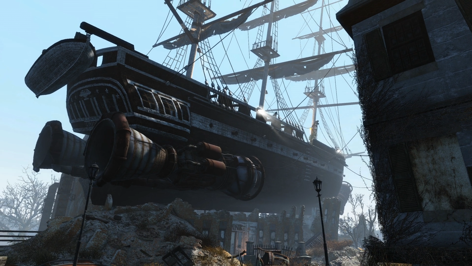 Uss Constitution Fallout Wiki Fandom Powered By Wikia Ship Diagram With Labels Google Search Pirates Pirate Ships