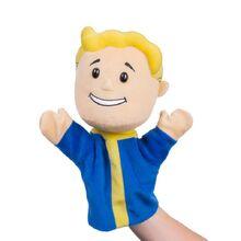 Vault boy puppet promotional photograph