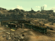 Warrington trainyard