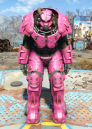 X-01 power armor Slocum's Joe pink paint