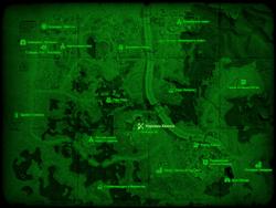 FO4 Карьеры Квинси (карта мира)