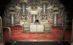 FO4 Логово Механиста 5 Терминал управления складом роботов