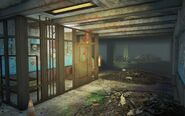 FO4 Lexington Garage closed door