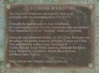 FO4 Old Corner Bookstore History