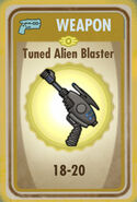 FoS Tuned Alien Blaster Card