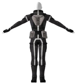 Stealth suit Mk II back