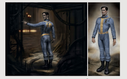 Art of Fo4 - Vault 10 jumpsuit