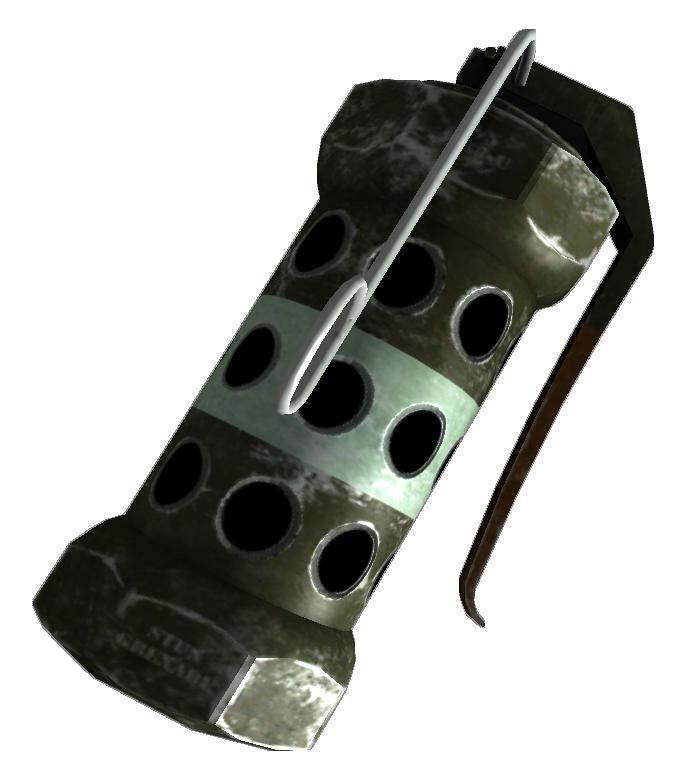 Stun Grenade Fallout Wiki Fandom Powered By Wikia