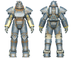 FO4 T-51 power armor vault tech
