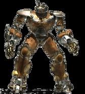 Humanoid robot render