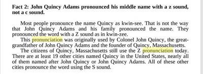 Quincy pronunciation
