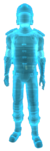 Seguridad holograma