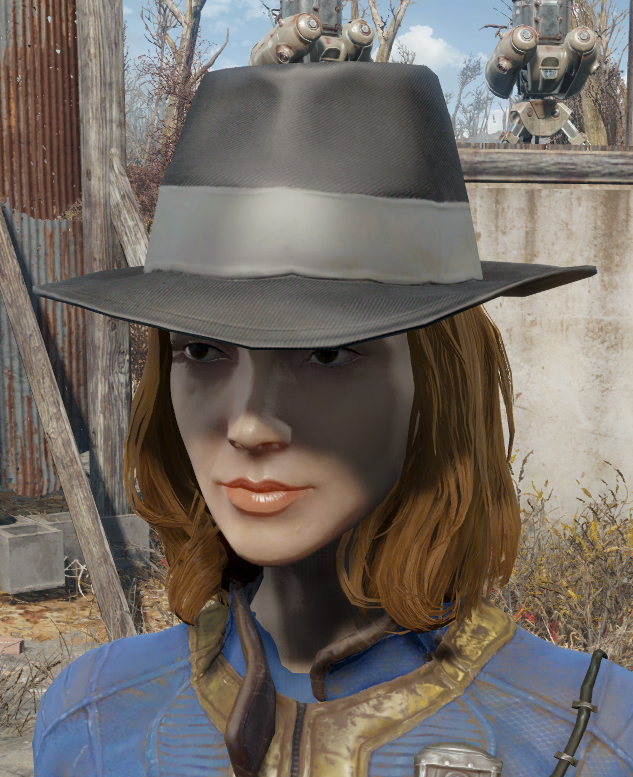 Silver Shroud hat worn