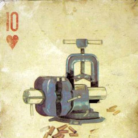 Верстак на карті з колекційного видання