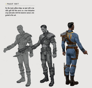 Art of Fo4 Vault 17 jumpsuit (1)