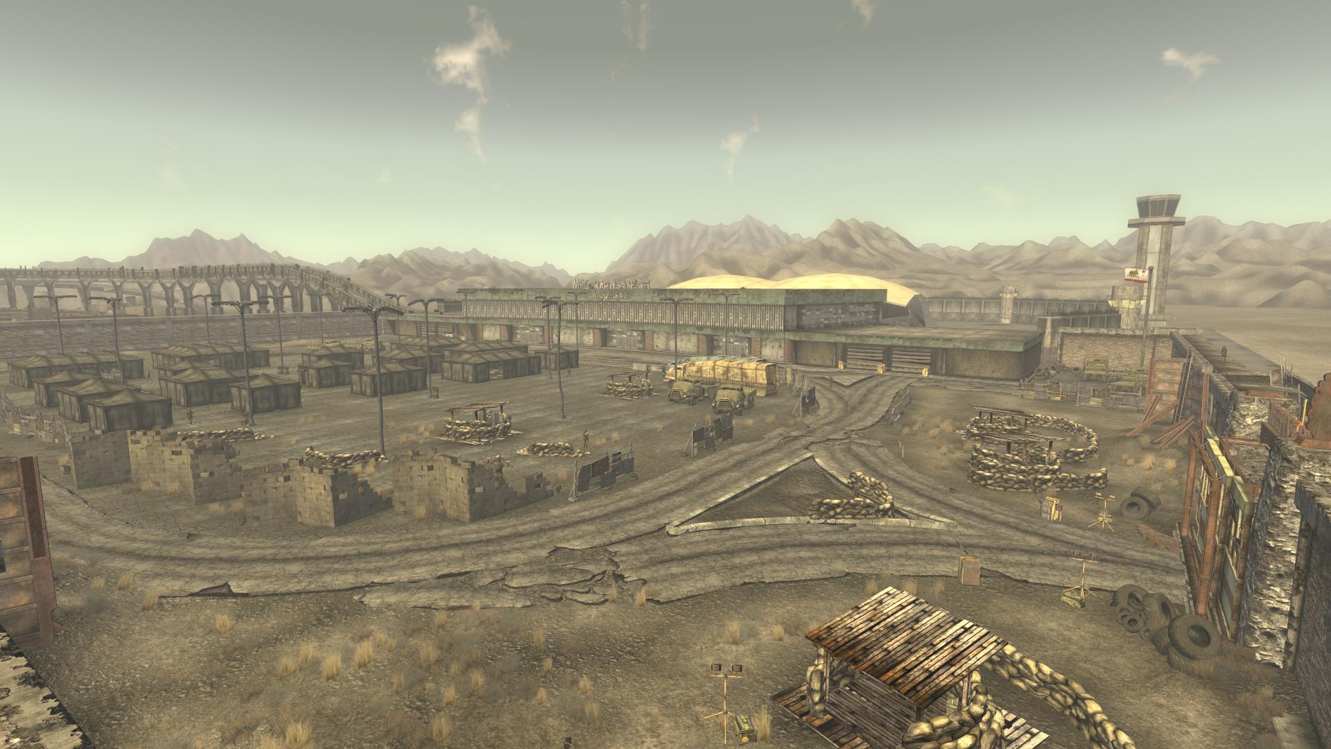 Camp McCarran Camp McCarran Fallout Wiki