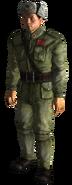 Chiński żołnierz symulacja