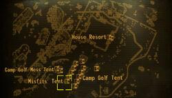 Misfits tent loc map