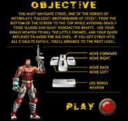 Vault Dash Objective