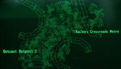 Bailey's Crossroads map