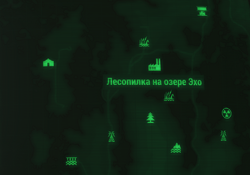 FO4FH map Echo Lake Lumber