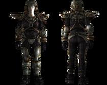 Metal armor female
