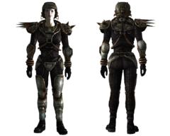 Metal armor female