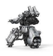 Sentry Bot Render Rear 3Quarter View