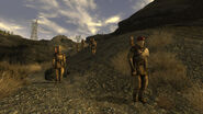 FNV 1st Recon marches near El Dorado substation