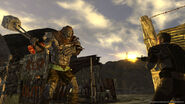 FNV duel between the mutant and courier fixtures and machine gun