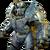 FO76 Blue camo power armor paint