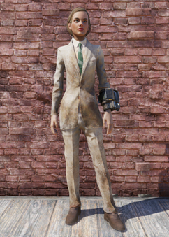 FO76 Dirty Tan Suit