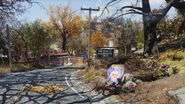 FO76 Flatwoods (south sign)