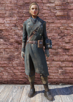 FO76 Hunter's Long Coat